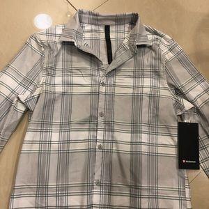 lululemon athletica Shirts - NWT Lululemon Mason's Peak Flannel $118-Size M